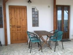 Terras van kamer Monti Casa Cologna Vakantie Abruzzo