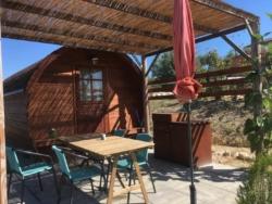 Wijnvat om in te slapen bij Casa Cologna Vakantie in Abruzzo