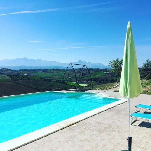 Zwembad met een view