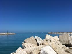 De zee in de buurt van Casa Cologna Abruzzo Vakantie