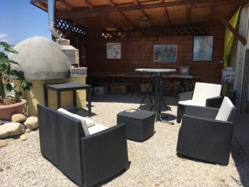 Lounge plek bij Bar Vitello van Casa Cologna