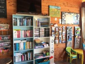 Veel info in de Bar van Casa Cologna Vakantie Abruzzo
