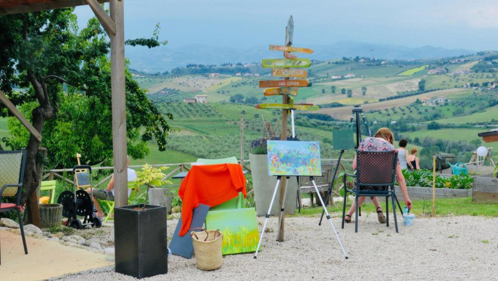 Schilderreis Abruzzo Italië