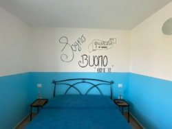 slaapkamer in appartement Mare