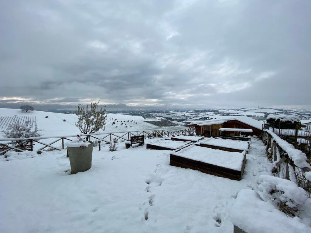 Winter bij Casa Cologna