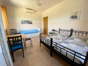 Slaapkamer in appartement L'Aquila