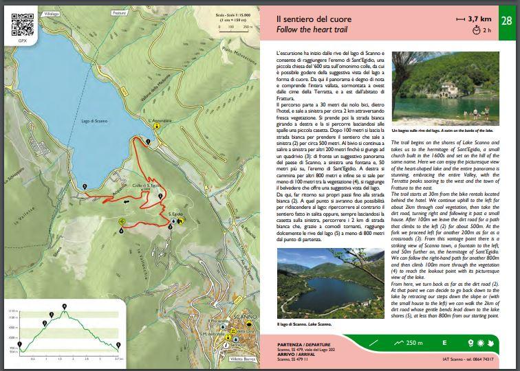 sentiero del cuore Abruzzo